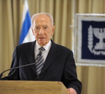 President Peres departs for state visit to the European Union