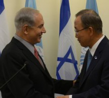 Israeli PM Netanyahu to UN Chief: Palestinian refusal to recognize Jewish state is root of conflict