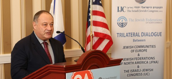 'Israeli-Jewish Congress Seeks to Consolidate World Jewry' – Jerusalem Post Feature Interview With IJC President Vladimir Sloutsker and CEO Michel Gourary