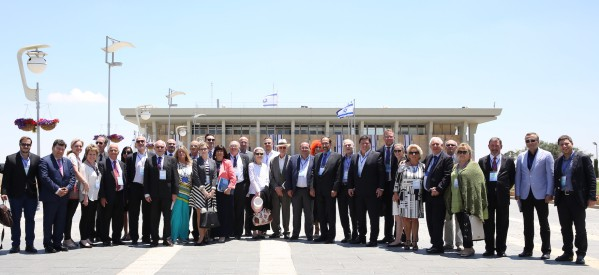 Europe's Jews decry 'beast' of anti-Semitism overtaking continent – Times of Israel on IJC Delegation of European Jewish Leaders