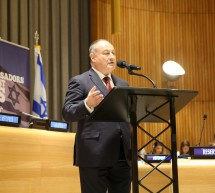 IJC President Vladimir Sloutsker at United Nations, New York (29th March, 2017)