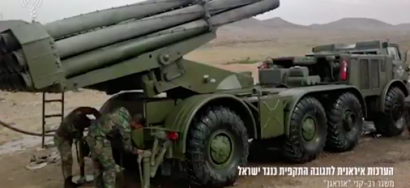 🛑 BREAKING: Iran fires barrage of rockets at northern Israel from Syria