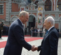 President Shimon Peres travels to Latvia and Lithuania for state visits