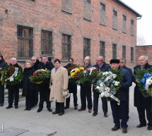 'Never Again', Say European Parliamentarians at Aushcwitz