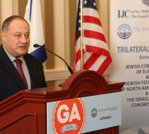 'Times of Israel' Feature Article about IJC Delegation of European Jewish Leaders to JFNA General Assembly