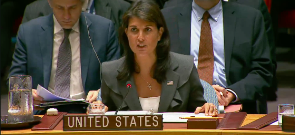 Ambassador Haley Delivers Remarks before Voting on Two Draft UN Security Council Resolutions on Gaza